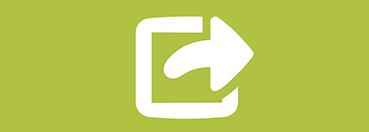 Icon representing sharing digital content